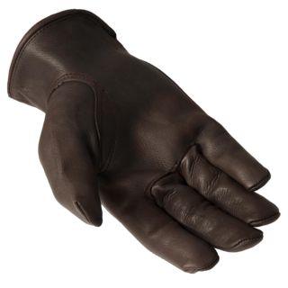 Daxx Mens Top Grain Deerskin Leather Whitetail Wildlife Print Gloves