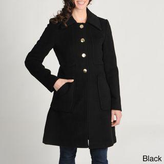 Tahari Womens Wool blend Walking Coat