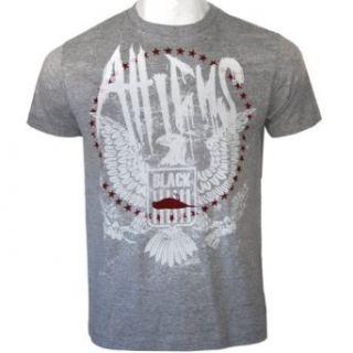 Atticus Eagle T Shirt Heather Grey Clothing
