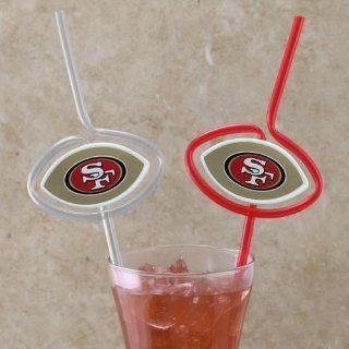 NFL San Francisco 49ers Six Pack Team Sip Sport Straws