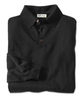 Cotton/Silk/Cashmere Long sleeved Polo Clothing