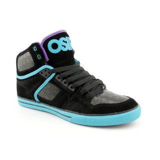 83 VLC Mens Size 11.5 Black BLK/TEAL/PURPLE Leather Skate Shoes Shoes