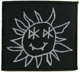 Dead Kennedys Smiley Vampire DK Sun Punk Music Band Woven