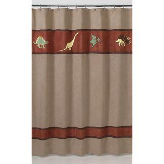 Dinosaur Kids Shower Curtain