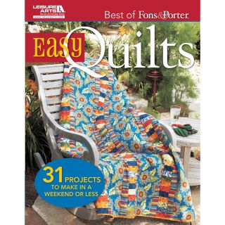 Leisure Arts Best Of Fons & Porter: Easy Quilts Today: $24.99