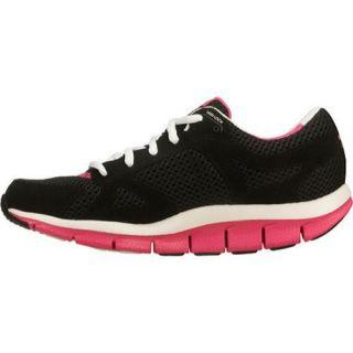 Womens Skechers Shape Ups Liv Black/Pink