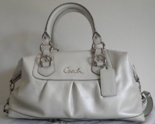 COACH Sabrina Ashley Leather Satchel Shoulder Bag Handbag