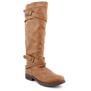 Madden Girl Womens Zerge Faux Leather Boots (Size 6)