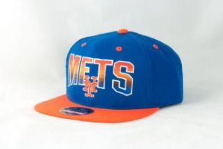 New York Mets Retro Logo Embroidered Flat Billed Snapback