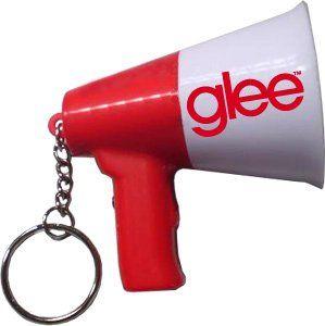 Glee Talking Megaphone Key Chain Clothing