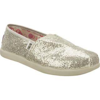 Girls Skechers BOBS World Silver