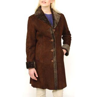 Lana Rafinattas Womens Spanish Merino Shearling Coat