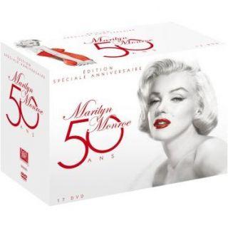 Coffret 50 ans Marilyn Monroe en HD DVD pas cher