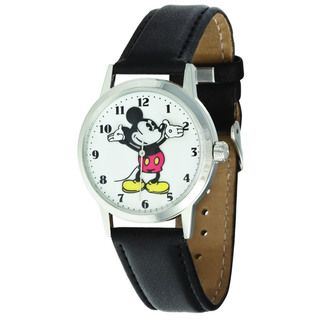 Disney Ingersoll Womens Black Mickey Mouse Watch