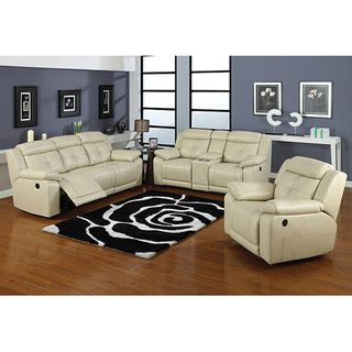 Allen Double Reclining Sofa and Loveseat