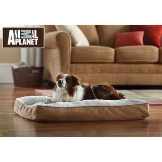 Animal Planet Large Memory Foam Sherpa Pet Bed