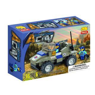 Fun Blocks Special Forces Military Brick Set D (96 pieces