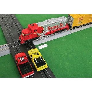 Walther Lifelike HO Scale Race and Train Set Intersection Joining