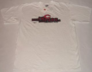 Cincinnati Reds Park Nike White T Shirt (M) Clothing