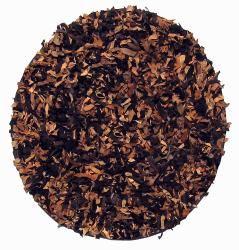 Premium Brown/Tan Leather Shag Area Rug (6 x 6)