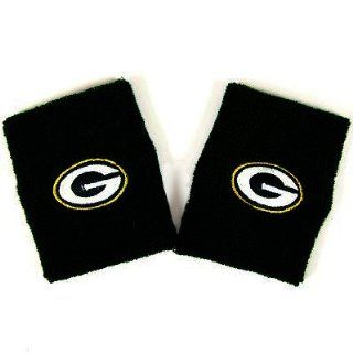Green Bay Packers Official Team Logo Terry Wristbands