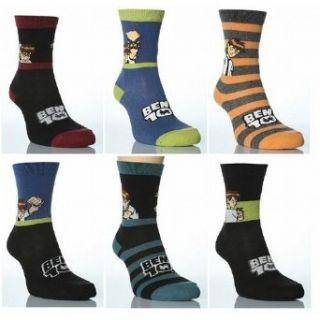 Childrens/Kids Boys Ben 10 Socks, Character Socks (Pack of