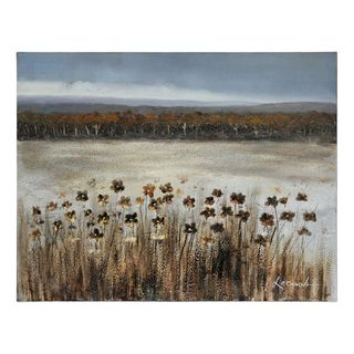 Lecavalier Serene Meadow Hand painted Canvas Art