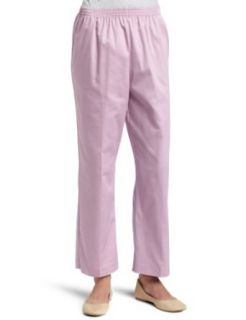 Alfred Dunner Womens Proportioned Short Pant,Mauve,12