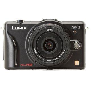 Panasonic Lumix DMC GF2KBODY 12.1MP Black Digital SLR Camera