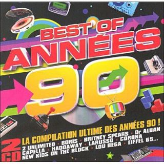 BEST OF ANNEES 90   Compilation   Achat CD COMPILATION pas cher
