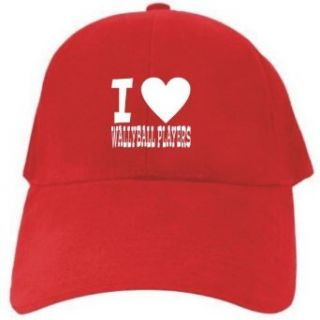 I LOVE Wallyball Players Red Baseball Cap Unisex Clothing