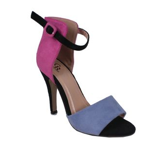 Cape Robbin by Beston Womens Oliva Fuchsia Two tone Pumps