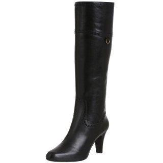 Sudini Womens Kari Tall Boot,Black,4 M Shoes