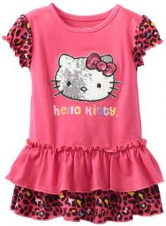 Hello Kitty Baby girls Infant Dress With Cheetah Design