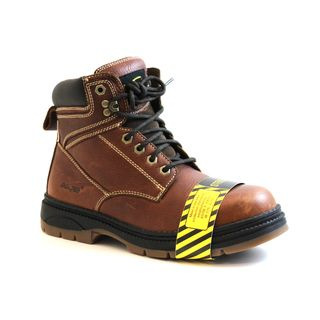AdTec Mens Steel Toe Leather Work Boots