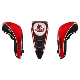 Louisville Cardinals 3pc Golf Club/Wood Head Cover Set