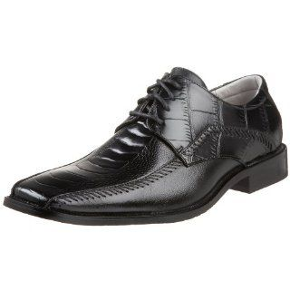 : Stacy Adams Mens Fullbright Bicycle Toe Oxford,Black,7 M US: Shoes