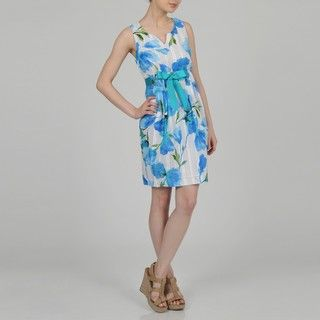 Signature by Robbie Bee Womens Floral Sundress