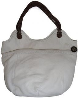 Womens The SAK Purse Handbag Indio Leather Linen
