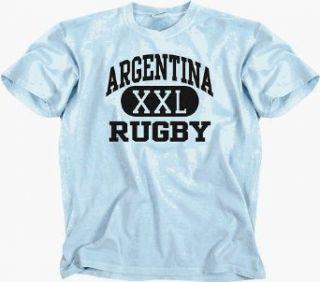 ARGENTINA XXL RUGBY LOGO T SHIRT (SKY) SHORT SLEEVE