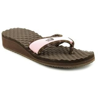 North Face Womens Base Camp Wedge Synthetic Sandals