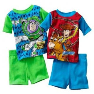 Disney/Pixar Toy Story Toddler Boys 4 Piece Pajama Shorts