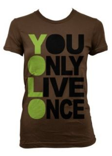 (Cybertela) You Only Live Once Junior Girls T shirt Music