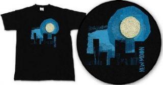 Elliott Smith   NEW MOON T shirt, Black, Medium Clothing
