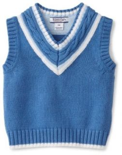 Kitestrings Baby Boys Infant Vest Sweater With Cable Knit