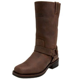 Harley Davidson Mens Hustin Boot,Brown,7 M Shoes
