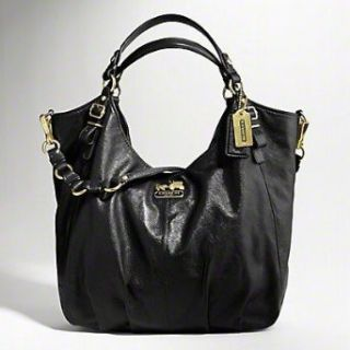 Coach Madison Leather Large Business Bag Purse Tote 15958
