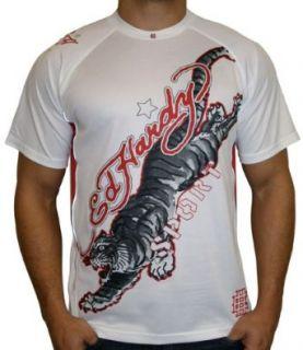 ED HARDY by Christian Audigier Tattoo Mens Tiger Mesh Tee