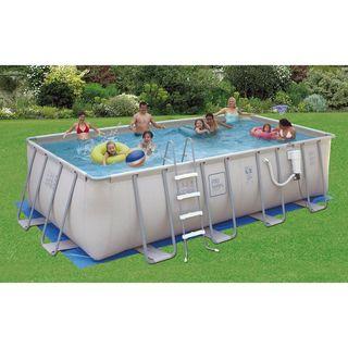 PRO Series Rectangular 52 inch Deep Swimming Pool Kit