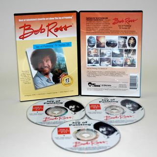 Weber Bob Ross DVD Joy of Painting Series 25